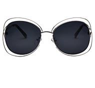 Sonnenbrillen mujeres's Elegant / Modern / Modisch überdimensional Silber / Gold Sonnenbrillen Vollrandfassung