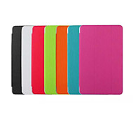 Solid Colors Slim Smart Flip Full Body Stand Case for Samsung Galaxy Tab E 9.6 (Assorted Colors)