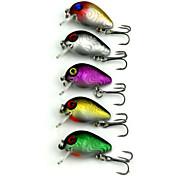 """5 pcs Manivelle leurres de pêche Manivelle g/Once mm/3-5/16"""" pouce,Plastique dur Pêche en mer Pêche d'eau douce Pêche de la perche"""