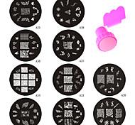 Jóias de Unhas - Abstracto - de Metal - para Dedo - 7*7*2.5CM - 11