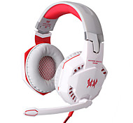 EACH G2000 Headphone Wired 3.5mm Over Ear Gaming Volume Control with Microphone For PC