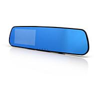 Rear View Mirror Driving Recorder 1080P HD 4.3 Inch Large Screen Anti String HD Car DVR