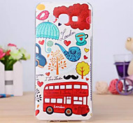 Painted TPU Phone Case for Galaxy A8