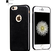 Super Thin Soft Luxury PU Leather Phone Back Cover for iphone 6 plus
