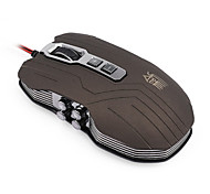 9D Sword Master X9 2400DPI Optical wired Gaming Game mouse for Desktop Laptop