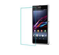 endurecido protector de pantalla de vidrio para sony z1 l39h
