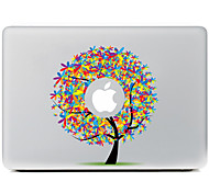 colorear el árbol adhesivo decorativo para macbook air / pro / pro con pantalla de retina