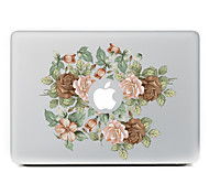 Chinese Rose Decorative Skin Sticker for MacBook Air/Pro/Pro with Retina Display
