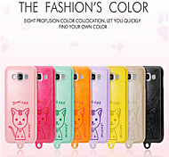 Leiers Dimicat case pu leather and tpu following whole package case for Samsung GalaxyE5/E5000