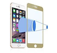 angibabe ultra delgado 2.5d 0,3 mm anti-blue ray vidrio templado protector de la pantalla para el iphone 6 más (color clasificado)