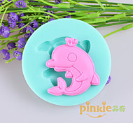 Dolphin Fondant Cake Chocolate Silicone Molds,Decoration Tools Bakeware