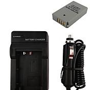 850mah el24 batería de la cámara + cargador de coche para Nikon 1 j5