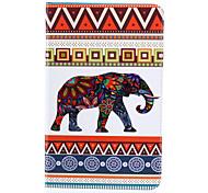 elefante elegante pintado de cuero plana para 's2 pestaña y la galaxia 8.0' 9.7 galaxy tab samsung s2