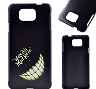 Tooth Pattern PC Material Phone Case for Samsung Galaxy J1 /G360/ G388F/ G850F / G357