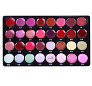 32-Color Tinted Lipstick Lip Gloss Makeup Palette
