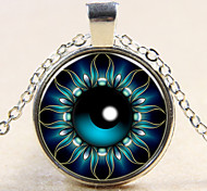 Fashion Devil's Eye Pendant Devil's Eye Necklace Glass Gem Necklace Gift for Friend