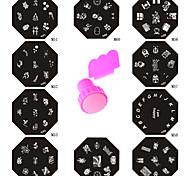 Gioielli per unghie - Astratto - per Dito - di Metallo - 11 - 6*6*2.5 CM
