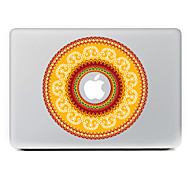 Circular Flower 19 Decorative Skin Sticker for MacBook Air/Pro/Pro with Retina Display
