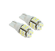 lorcoo ™ 2 x t10 20-SMD 1210 bianco condotto la lampadina luci auto 194 168 2825 5w