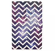 Wave Star Pattern PU Leather Full Body Case with Stand Slot for Galaxy Tab E 9.6 T560