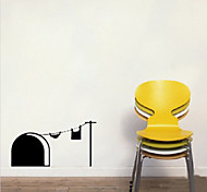Rat-Infested Hole Mouse Home Wall Stickers