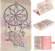 Windbell Design PU Leather with Stand Case forSamsung Galaxy Tab 3 Lite T110 T114/Tab 4 7.0 T230/Tab 3 8.0 T310 T311