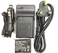 UK/EU/AU 8.4V EN-EL14/EL14A Car Charger +(1PCS)Battery  for Nikon D3200 D3100 D5100P D5200 D5300 P7800 P7000