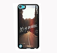 Let's Go Somewhere Design Aluminum High Quality Case for iPod Touch 5