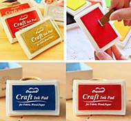 DIY Scrapbooking Craft Stamp Ink Pad(Assorted Color)