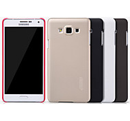 Nillkin Super Frosted Shield Series Hard Pc Back Cover Case With Screen Protector For Samsung Galaxy A7(A700)