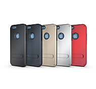 Strong Box Case with Stand TPU&PC Hybrid Armor Shockproof Protective Case for Iphone 6