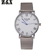 Men's  Fashion  Quartz Analog  Steel Belt Wrist Watch