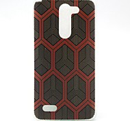Lattice Pattern TPU Soft Cover Case forLG L Bello D331 D335 D337