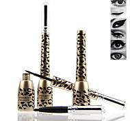 Professional Leopard Makeup Black Waterproof Eyeliner Liquid + Eyeliner Pencil