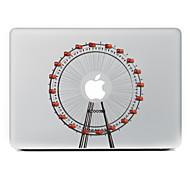 la noria adhesivo decorativo para macbook air / pro / pro con pantalla de retina