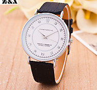 la mode gommage quartz ceinture en acier analogique montre-bracelet pour hommes