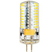 1 pcs G4 7 W 72 SMD 3014 650 LM Warm White/Cool White High Bright Corn Bulbs (AC/DC 12-24V)
