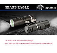 3 Mode 600 Lumens LED Flashlights 16340 Adjustable Focus LED Cree XM-L T6