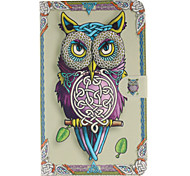 Personality Owls Pattern PU Leather Full Body Case with Card for Samsung Galaxy Tab 4 8.0 T330/Tab A 8.0 T350 T351