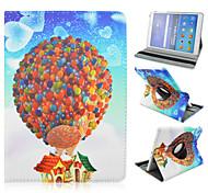 red Heißluftballon rotierenden Halter für Galaxy Tab A9.7 T550