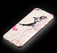iPhone 6 compatible Transparent/Graphic/Special Design Back Cover