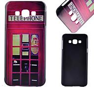 padrão pc caso de telefone celular material de banca de jornal para Samsung Galaxy a8