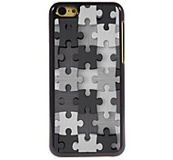 Puzzle Design Aluminum High Quality Case for iPhone 5C