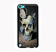 Skull and Butterfly Design Aluminum High Quality Case for iPod Touch 5