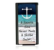 Sea Wave Leather Vein Pattern Hard Case for iPod Nano 7
