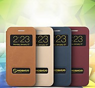 Moshuo™ High Quality Ultra Thin with PU Leather Back Case Cover for iPhone 6 plus (Assorted Colors)