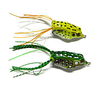 2pcs Hengjia Frog lures Soft Baits 8.5g 50mm Sea Fishing/Freshwater Fishing/Lure Fishing