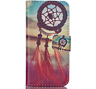 Wind Chime PU Leather Full Body Case with Screen Protector And Stand for iPod Touch 5