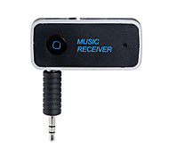 do bluetooth 4.1 universal 3,5 milímetros streaming de carro A2DP adaptador receptor de áudio sem fio bluetooth aux música viva-voz com