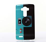 Fluorescent Camera Pattern TPU Soft Case for Multiple LG G3/G3MINI/G4